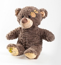 "Медведь ""Honeypot"" Brown Bear w/Bee"