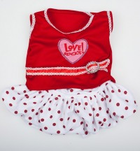 Костюм Love Rocks Ton w/Polka Dod Skirt