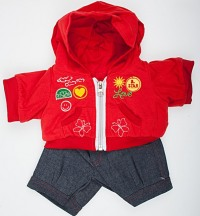 Костюм Red Badges Outfit