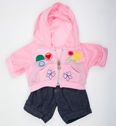 Костюм Pink Badges Outfit