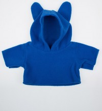 Толстовка Blue Fleece Hoodie w/Cute Ear Warmers
