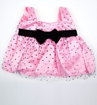 Платье Pink Polka Dot Dress w/Bow