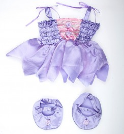 Платье Purple Ballerina w/Ballet Shoes