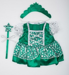 Платье Green Fairy Princess w/Wand & Tiara