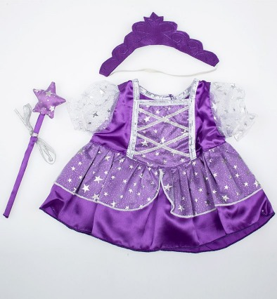 Платье Purple Fairy Princess w/Wand & Tiara