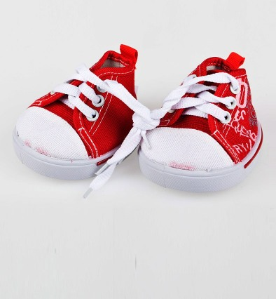 Обувь Red Tennis Shoe