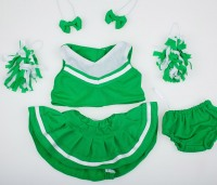 Костюм Green/ white Cheerleader